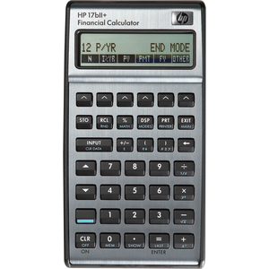 HP 17BII+ PROGRAMMABLE FINANCIAL  CALCULATOR ENGLISH PACKAGE ONLY