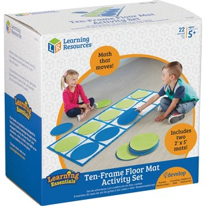 Learning Resources 10-frame Floor Mat Activity Set - 60