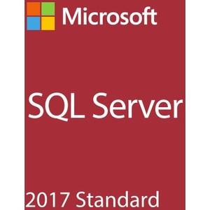 MICROSOFT SQL Server 2017 Standard - Box Pack - 1 Server, 10 Client - DBMS - DVD-ROM - English - PC