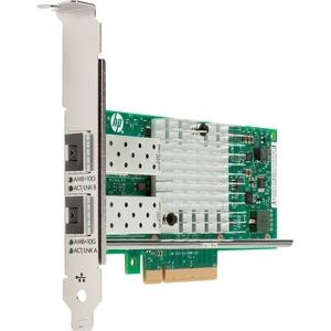 HP X710-DA2 10GbE SFP+ Dual Port NIC - PCI Express 3.0 x8 - 2 Port(s) - Optical Fiber