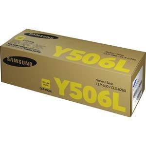 Toner Cartridge-Samsung CLT-Y506L-3500 Page Yield-YW