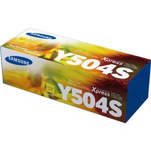 Toner Cartridge-Samsung CLT-Y504S-1800 Page Yield-YW