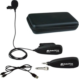 AmpliVox S1698 Microphone - 20 Hz to 20 kHz - Wireless - Uni-directional - Lavalier