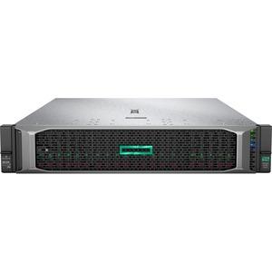 HPE ProLiant DL385 G10 2U Rack Server - 1 x AMD EPYC 7251 2.10 GHz - 32 GB RAM HDD SSD - 1