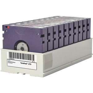HPE LTO-8 Non-custom Labeled Terapack 10 CarbideClean Data Tapes - LTO-8 - Labeled - 12 TB