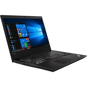 "Lenovo ThinkPad E480 20KN003WUS 14"" LCD Notebook - Intel Core i7 (8th Gen) i7-8550U Quad-core (4 Core) 1.80 GHz - 8 GB DDR4 SDRAM - 500 GB HDD - Windows 10 Pro 64-bit (English) - 1920 x 1080 - In-plane Switching (IPS) Technology - Black 20KN003WUS"