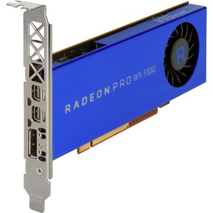 HP AMD Radeon Pro WX 3100 Graphic Card - 4 GB GDDR5 - Low-profile - 128 bit Bus Width - Di