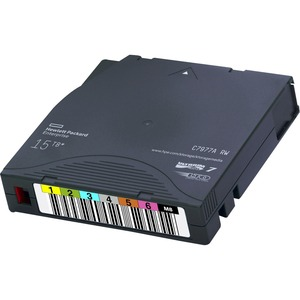 HPE LTO-7 Ultrium Type M 22.5TB RW 20 Data Cartridges Non Custom Labeled with Cases - LTO-