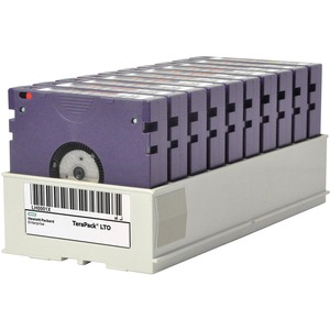 HPE LTO-7 Ultrium Type M 22.5TB RW Custom Labeled TeraPack 10 Data Cartridges - LTO-8 Type