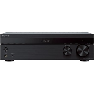 Sony Stereo Receiver With Phono Input and Bluetooth Connectivity - 30 x FM Presets - Wirel