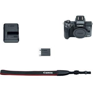 Canon EOS M50 24.1 Megapixel Mirrorless Camera Body Only - Black - Autofocus - 3inTouchsc