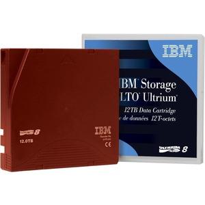 Lenovo Ultrium 8 Data Cartridge 1-Pack - LTO-8 - 12 TB (Native) / 30 TB (Compressed) - 314