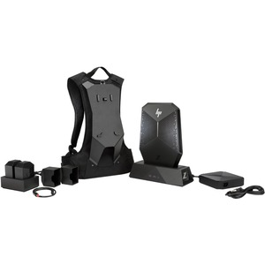 HP Z VR Backpack G1 Dock - for Backpack Workstation - 330 W - Proprietary Interface - 6 x