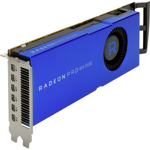 HP ATI Radeon Pro WX 9100 Graphic Card - 16 GB HBM2 - 2048 bit Bus Width - Mini DisplayPor
