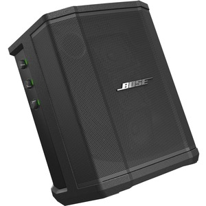 Bose S1 Portable Bluetooth Speaker System - Black - 62 Hz to 17 kHz - Battery Rechargeable