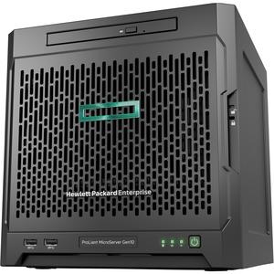 HPE ProLiant MicroServer Gen10 Ultra Micro Tower Server - 1 x Opteron X3421 - 8 GB RAM HDD SSD - Serial ATA/600 Controll