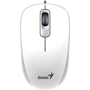 GENIUS Mouse - USB - Optical - 3 Button(s) - Cable - Scroll Wheel