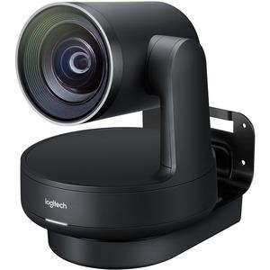 Logitech Video Conferencing Camera - 13 Megapixel - 60 fps - Matte Black, Slate Gray - USB 3.0 960-001226
