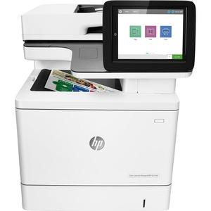 HP LaserJet Managed E57540dn Laser Multifunction Printer - Color - Plain Paper Print - Desktop