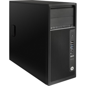 HP Z240 Workstation - 1 x Intel Core i7 (7th Gen) i7-7700 Quad-core (4 Core) 3.60 GHz - 16 GB DDR4 SDRAM - 256 GB SSD -