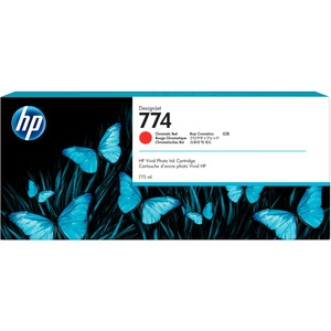 774 775-ml Chromatic Red Ink 3-pack