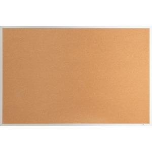 Lorell Aluminum Frame Cork Board - 18