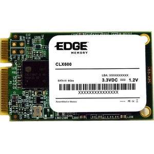EDGE CLX600 500 GB Solid State Drive - mSATA (MO-300) Internal - SATA (SATA/600) - TAA Com