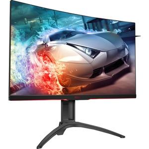 AOC AGON AG322QC4 31.5inWQHD Curved Screen WLED LCD Monitor - 16:9 - Black - 2560 x 1440