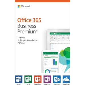 Microsoft 365 Business Standard - Box Pack - 1 User - 1 Year - Medialess - English