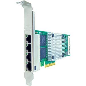 AXIOM 10/100/1000MBS QUAD PORT RJ45 PCIE X4 NIC CARD FOR CISCO - UCSC-PCIE-IRJ45