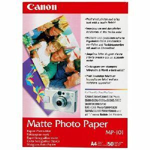 Canon MP 101 Paper - matte photo paper - 4 in x 6 in - 170 g/m2 - 120 pcs.