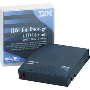 IBM TotalStorage LTO Ultrium 3 Tape Cartridge - LTO Ultrium LTO-3 - 400GB (Native) / 800GB