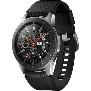 Samsung Galaxy Watch (46mm) Silver (4G LTE) - Accelerometer-Barometer-Gyro Sensor-Heart Ra