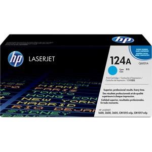 HP 124A Cyan Toner Cartridge - Cyan - Laser - 2000 Page