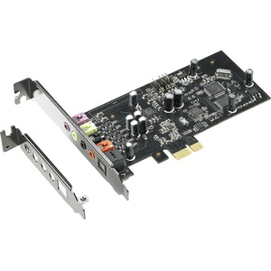 XONAR SE 5.1 PCIE GAMING SOUND CARD WITH 192KHZ/24-BIT HI-RES AUDIO AND 116DB SN