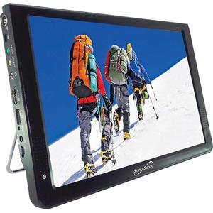 Supersonic 12inTravel Monitor & TV - 12inTravel Monitor & TV w/Built-in Batt-USB/SD Inpu