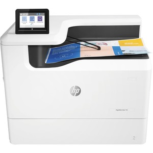 HP 755dn Page Wide Array Printer - Color - 2400 x 1200 dpi Print - Plain Paper Print - Desktop