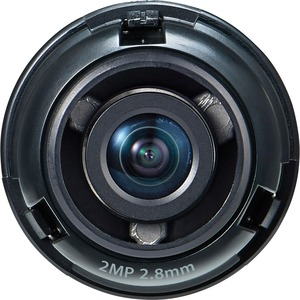 Hanwha Techwin SLA-2M2800Q - 2.80 mm - f/2 - Fixed Lens for M12-mount - Designed for Surve