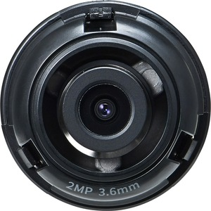 Hanwha Techwin SLA-2M3600Q - 3.60 mm - f/2 - Fixed Lens for M12-mount - Designed for Surve