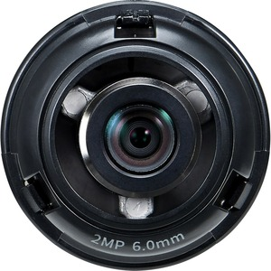 Hanwha Techwin SLA-2M6000Q - 6 mm - f/2 - Fixed Lens for M12-mount - Designed for Surveill