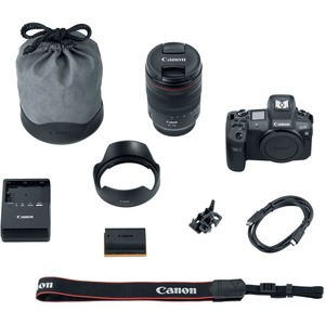 Canon EOS R 30.3 Megapixel Mirrorless Camera with Lens - 24 mm - 105 mm