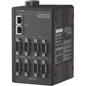 Advantech 8-port Modbus Gateway with Wide Temp