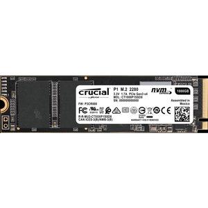 CRUCIAL P1 NVME PCIE INTERFACE QLC 3D NAND M.2 SATA - 1TB