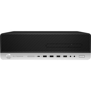 HP EliteDesk 800 G4 Desktop Computer - Intel Core i3 8th Gen i3-8300 3.70 GHz - 8 GB RAM D