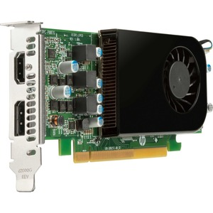 HP AMD Radeon RX 550X Graphic Card - 4 GB - Low-profile - DisplayPort