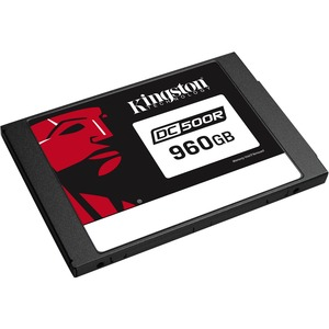 Kingston Enterprise SSD DC500R (Read-Centric) 960GB - 0.5 DWPD - 876 TB TBW - 555 MB/s Max