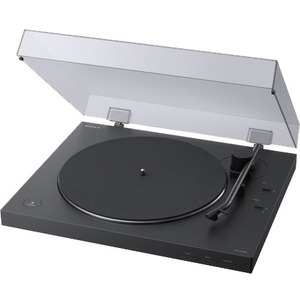 Sony Turntable with Bluetooth Connectivity - 33.33-45 rpm - Die-cast Aluminum - Bluetooth