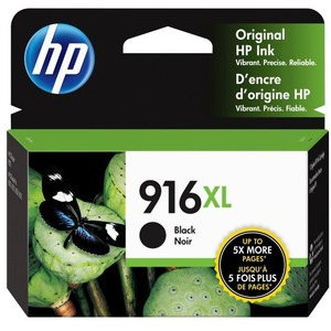 916XL Black Original Ink Cartridge HP 916XL Black Original Ink Cartridge NA