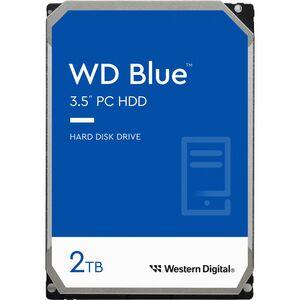 WD Blue WD20EZAZ 2 TB Hard Drive - 3.5inInternal - SATA (SATA/600) - 5400rpm - 2 Year War
