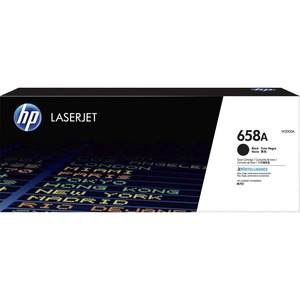 HP 658A (W2000A) BLACK ORIGINAL LASERJET TONER CARTRIDGE